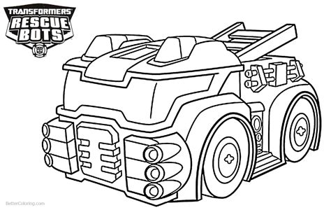 coloring pages transformers rescue bots bltidm