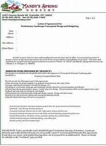 Sample Generic Resume Printable Sample Letter Of Agreement Form Letter