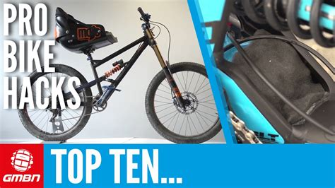 Top 10 Pro Mountain Bike Hacks Youtube