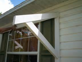 DIY Window Awning Frame