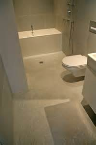 concrete wall panels and bathroom floor nyc ny modern