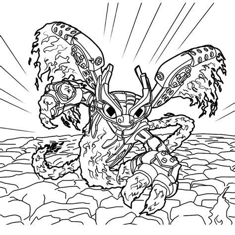 Kleurplaat Skylanders Terrafin by Nieuw Skylanders Kleurplaten Printen Krijg Duizenden