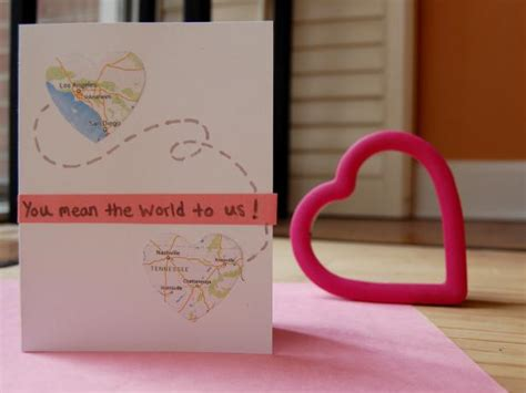 easy homemade valentines day cards diy network blog