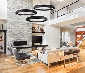 Luminaire Salon Design : clairage du salon inter luminaires ~ Teatrodelosmanantiales.com Idées de Décoration