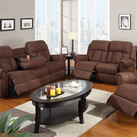 Reclining Microfiber Sofa And Loveseat Set by Sofa Set Microfiber Sofa Furniture Living Room Set