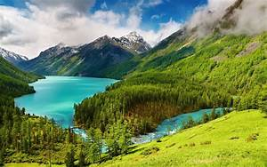 Beautiful, Nature, Mountains, Scene, Hd, Wallpaper