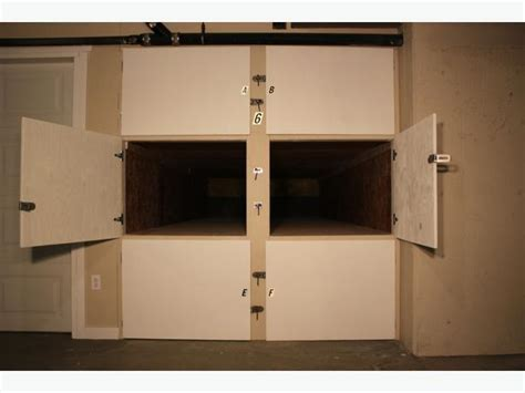 Rowing Shell, Kayak and Canoe Storage Lockers for Rent