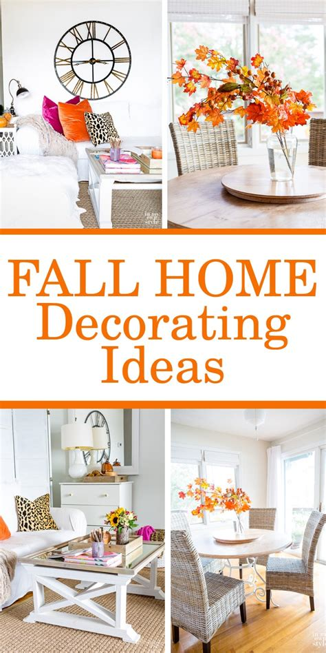 Autumn Inspiration Eclectically Fall Home Tour  In My