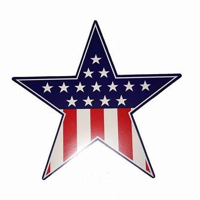 Patriotic Star Cutout Bulletin Resources Elks Thumbnails