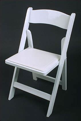 white padded folding chair syracuse rentals
