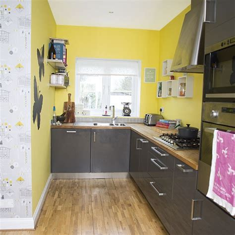 and yellow kitchen ideas yellow and grey kitchen decorating housetohome co uk