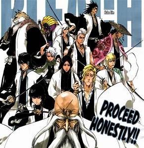 Bleach Captains And Lieutenants Names | www.pixshark.com ...