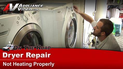 dryer repair diagnostic  heating whirlpoolmaytag