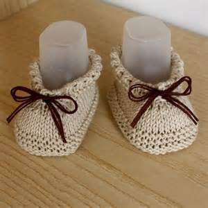 Easy Knit Baby Booties Pattern
