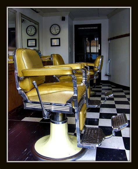 1000 images about barber chairs on vintage