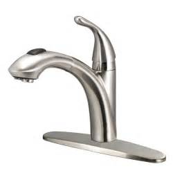glacier kitchen faucet glacier bay keelia single handle pull out sprayer kitchen faucet