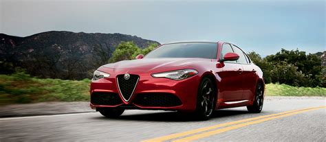 2017 Alfa Romeo Giulia Red Color Hd Wallpaper Latest