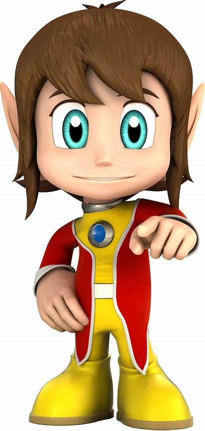 Kidd Sonic Alex Sega Hedgehog Racing Stars
