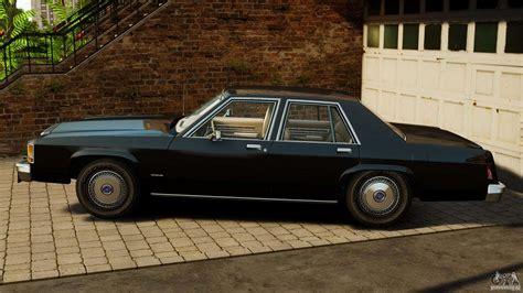 Ford Ltd Crown Victoria 1987 For Gta 4