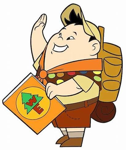Pixar Clipart Disney Clip Russell Wilderness Explorer