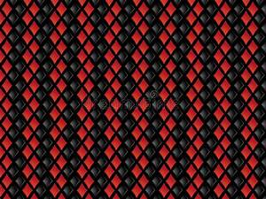 Red And Black Diamonds Background Stock Illustration ...