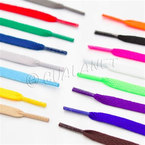 colored shoe laces flat neon colored shoelaces sport shoe strings athletic