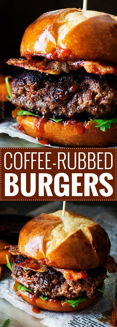 Mcd) or dunkin brands' unfortunately, burger king's promotion falls short of the mark. Coffee Rubbed Burgers with Dr Pepper BBQ Sauce - The ...