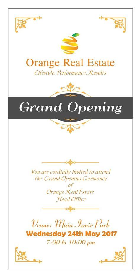 Office Inauguration Invitation Card Sample PaperInvite