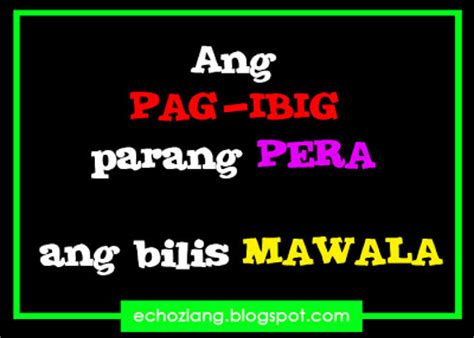 october  echoz lang tagalog quotes collection