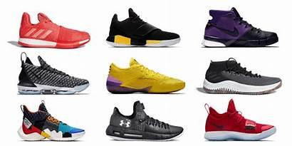 Basketball Shoes Under Transparent Feet Wide Picks
