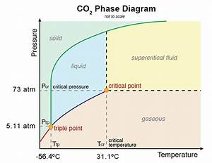 Label The Phase Diagram For Carbon Dioxide
