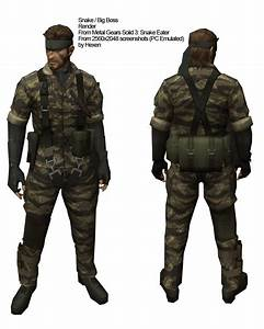 Cosplay Guides  Metal Gear Solid 3 Snake Eater Naked Snake Big Boss Cosplay Guide