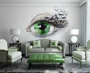 Wohnzimmer Accessoires Bringen Leben Ins Zimmer : wandgestaltung f rs wohnzimmer 36 kreative und ~ Lizthompson.info Haus und Dekorationen