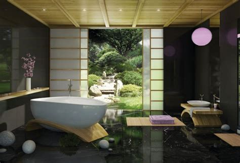 serene asian bathrooms    spas page