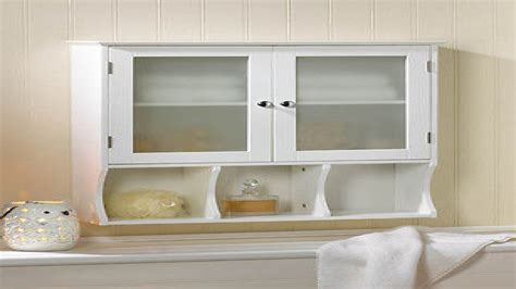 white bathroom wall cabinets with glass doors wall cabinet with glass doors