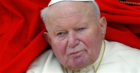 pope john paul iis blood recovered   stolen