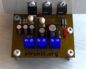 Tda2030   Power Transistors  Tip41  Tip42 Or 2sc1061