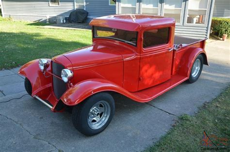Ford Pickup Hot Rod Tubbed Sweet Little Ride