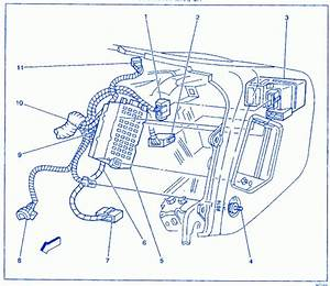 Daewoo Matiz Euro Iii 2003 Engine Compartment Electrical