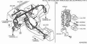 Nissan Nv200 Engine Wiring Harness  Body  Doors  Room