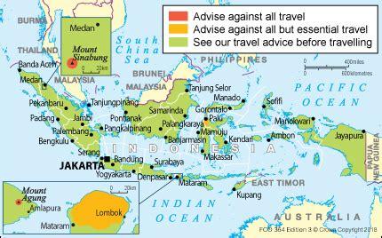 indonesia travel advice govuk