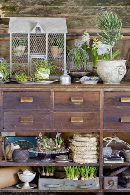 mod vintage life potting benches revisited
