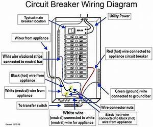 Circuit Diagram Of A Circuit Breaker