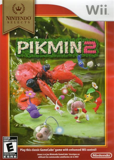 pikmin wii mobygames game covers