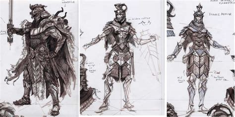 Imperialarmor03 Skyrim Concept Art Game Concept Art Art