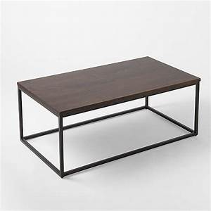 17 best images about west elm coffee tables on pinterest With box frame coffee table marble top