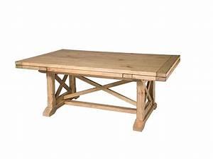 Kincaid Furniture Dining Room Refractory Trestle Table 33