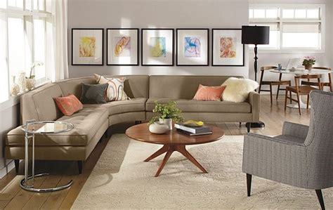 reese curved sectional room by r b modern living room