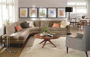 Reese curved sectional room by rb modern living room for Reese sectional sofa room and board