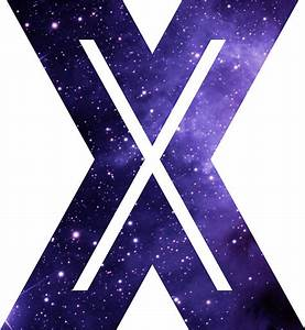 """The Letter X - Space"" Stickers by Mike Gallard Redbubble"